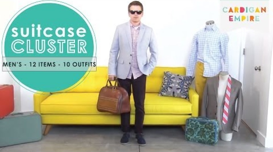 How to Pack a Man's Suitcase