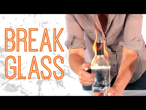 4 Badass Tricks To Break Glass