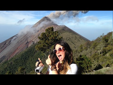 ALMOST DIED ON AN ACTIVE VOLCANO