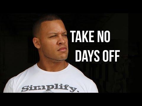 Best Motivational Speech - Take No Days Off #TNDO