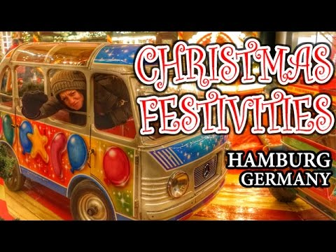 CHRISTMAS FESTIVITIES - Hamburg, Germany