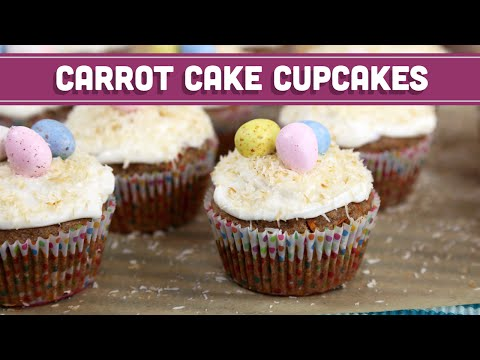 Carrot Cake Cupcakes for Easter! Mind Over Munch