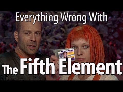 Everything Wrong With The Fifth Element In 16 Minutes Or Less