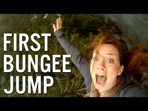 FIRST BUNGEE JUMP - Whistler, British Columbia, Canada