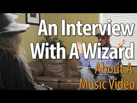 Interview With A Wizard About A Music Video - Conversations With Myself
