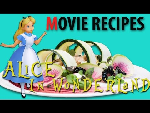 Movie Recipes - Alice In Wonderland