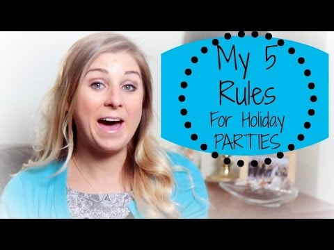 My 5 Rules: Healthy Holiday Eating Tips