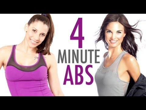 PERFECT 4 Minute Abs Workout w/ Amanda Russell #blissedin - BEXLIFE