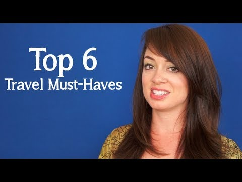 TRAVEL TIPS: Traveling Must Haves