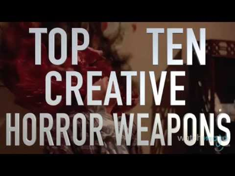 Top 10 Creative Horror Movie Weapons