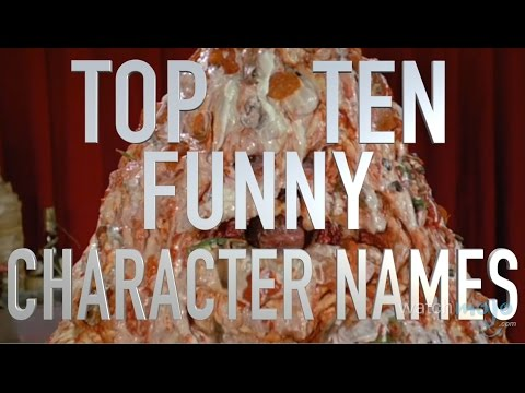 Top 10 Funny Movie Character Names