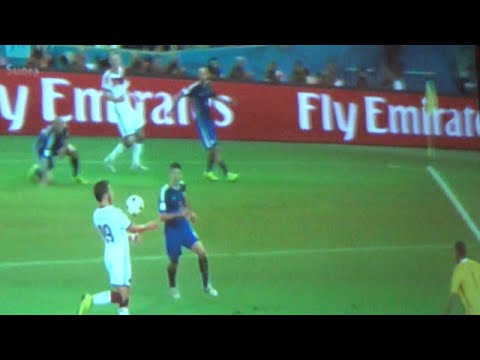 WORLD CUP 2014 WINNING GOAL
