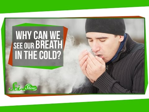 Why Can We See Our Breath In The Cold?