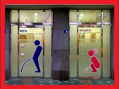 Funny bathroom sign