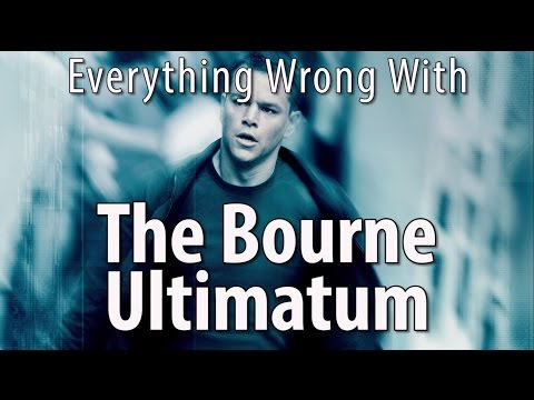 Everything Wrong With The Bourne Ultimatum In 12 Minutes Or Less