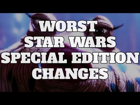 Top 10 Worst Star Wars Special Edition Changes (Quickie)