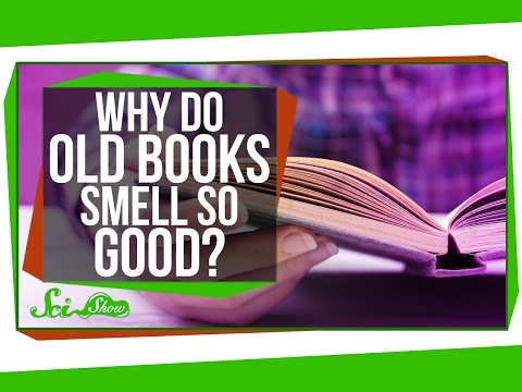 Why Do Old Books Smell So Good?