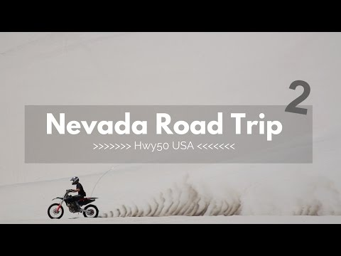 Nevada Road Trip in 4K - Part 2