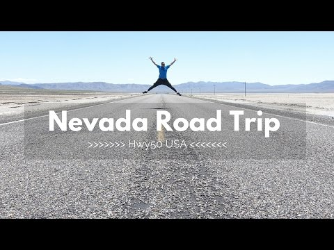 Nevada Road Trip in 4K - Part One
