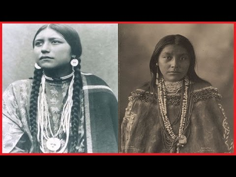 26 PORTRAITS OF NATIVE AMERICAN TEEN GIRLS FROM BETWEEN THE 1870S AND 1890S