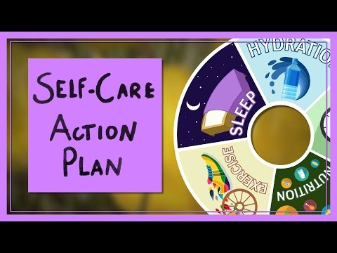 A Self-Care Action Plan