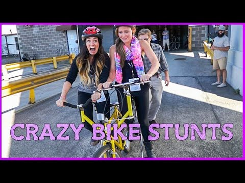 CRAZY BIKE STUNTS - Vlogtober Day 2