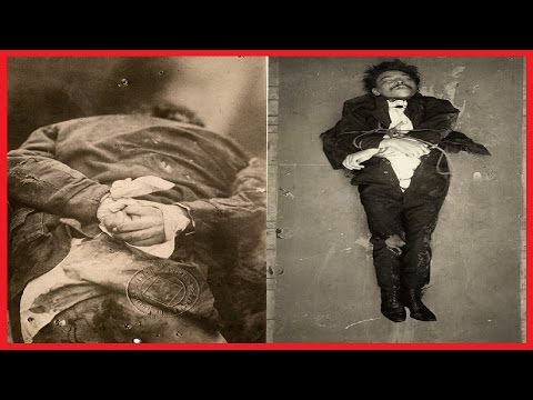 OLD CRIME SCENE PHOTOS SHOW THE BIZARRE EARLY ORIGINS OF POLICE WORK