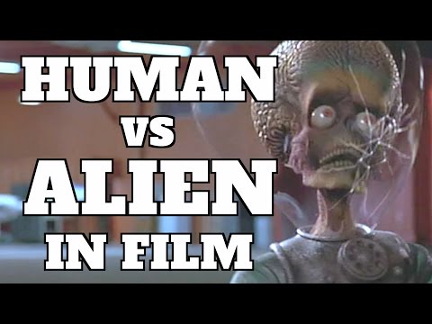 Top 10 Human vs. Alien Fights in Movies (Quickie)