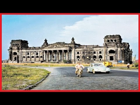 25 RARE COLOR PHOTOS CAPTURE GERMANY AFTER THE WAR, FROM THE 1950S AND 1960S