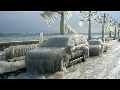 10 COLDEST Recorded Temperatures On EARTH!
