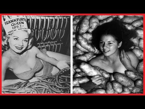 24 STRANGE BEAUTY QUEENS AND PAGEANTS FROM THE PAST