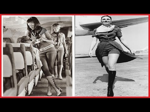 25 PHOTOS BEAUTIFUL FLIGHT ATTENDANT UNIFORMS FROM BETWEEN THE 1930S AND 1970S