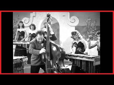 AMAZING SHORT BY AN ORCHESTRA OF VIBRAPHONE PLAYERS 1940s (Reg Kehoe and his Marimba Queens)