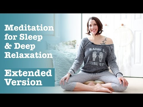 Meditation for Sleep and Deep Relaxation - EXTENDED VERSION - BEXLIFE