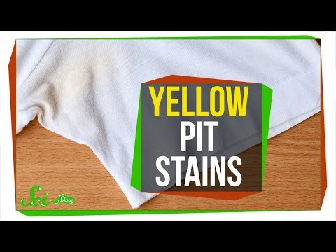 Why Does Sweat Turn Shirts Yellow?