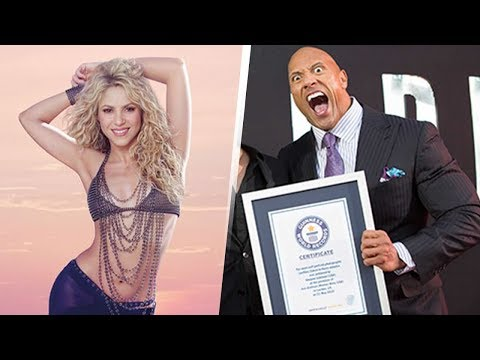 10 Celebrities With Guinness World Records