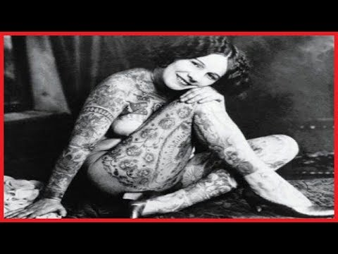 39 VINTAGE PORTRAIT PHOTOS OF TATTOOED LADIES FROM THE LATE 19TH AND EARLY 20TH CENTURIES