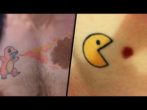 Awesome Tattoos That Covered Birthmarks
