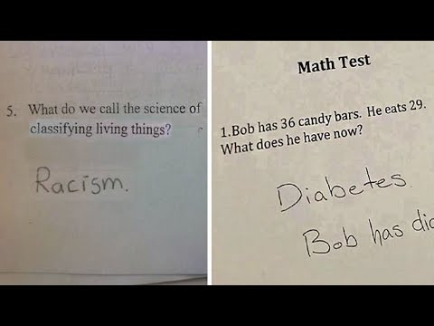 Brilliant Test Answers Given By Students