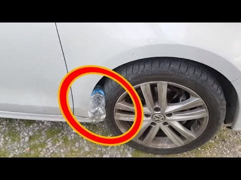 If You See Plastic Bottle On Your  Car Tire ,  Call 911 Immediately