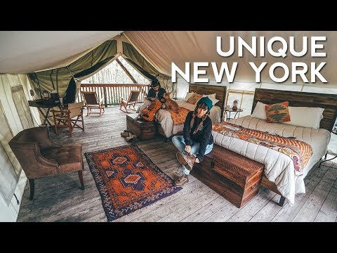 SAFARI TENT and MONGOLIAN YURT in NEW YORK | Unique Hotels