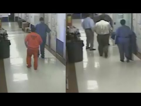 Few Hours After Sentencing Vet To Jail Judge Caught On Camera Walking Into His Cell And