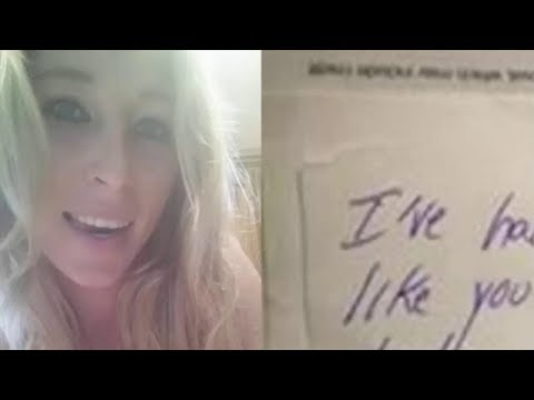 Strange Woman Waited For Mom To Look Away Then Slips Boy Stunning Note