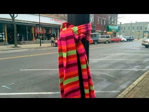 What It Means If You See A Scarf Tied Around A Tree In Your City