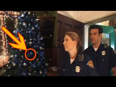 Police Go To Wrong Address. Shocked To See What Was Hidden On Christmas Tree