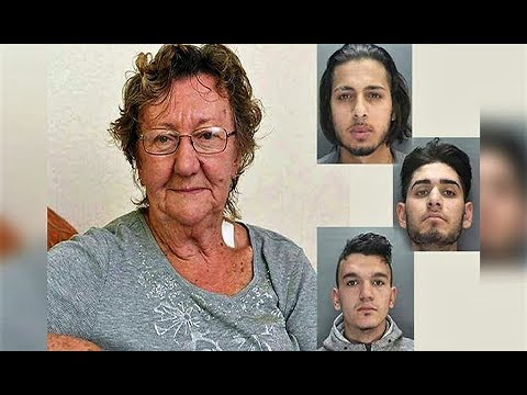 3 men approach 77-yr-old grandma at ATM Seconds later, realize they chose the wrong pensioner to rob