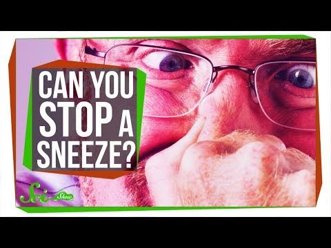 Why Does Putting a Finger Under Your Nose Stop a Sneeze?
