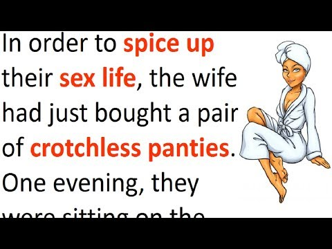 Wife buys crotchless panties to spice things up with her husband – his reaction is priceless