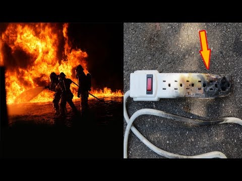 A Fire Department Warned People To Never Make This Dangerous Mistake With An Extension Cord