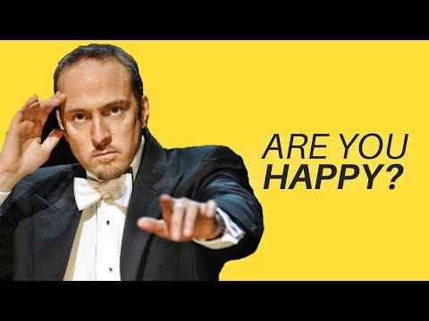How To Find Lasting Happiness In Life - Real LIFE Mentalist Derren Brown (very eye-opening)